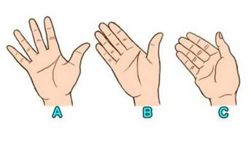 Khoảng cách giữa các ngón tay tiết lộ bạn cởi mở hay khép kín - VnExpress iOne