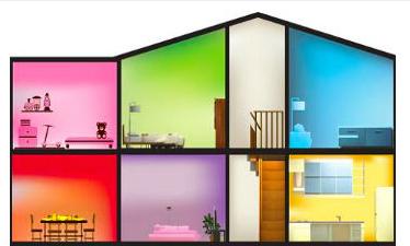 Bí quyết chọn màu sắc hợp phong thủy cho từng căn phòng trong ngôi nhà của bạn - VnExpress iOne