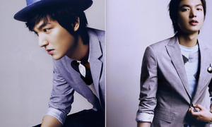 Học Lee Min Ho mặc vest cho chuẩn