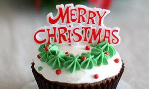 Cupcake dự bị cho đêm Giáng Sinh