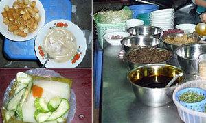 Bạt ngàn quán ăn ngon ở chợ Thành Công