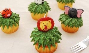 Cupcake con giống dễ thương quá bồ ơi!