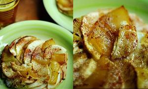 Làm bánh táo theo phong cách độc lạ