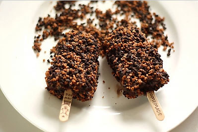 Cách làm kem cây socola vani ngon ngây ngất 7