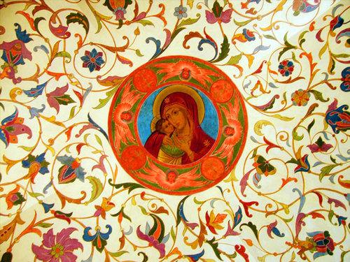 Nội thất trong Nhà thờ Thánh Basil 4
