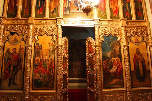Nội thất trong Nhà thờ Thánh Basil 6