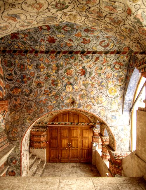 Nội thất trong Nhà thờ Thánh Basil