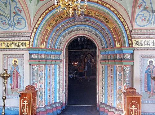 Nội thất trong Nhà thờ Thánh Basil 5