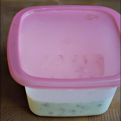 Cách làm kem sữa chua giòn tan ngon 4