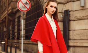 Nóng bừng với tuyển tập áo dạ đỏ cực xinh