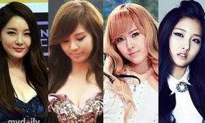 4 mĩ nhân Hàn gây bất ngờ vì sự 'nở nang'