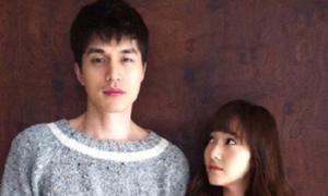 Jessica SNSD thấp 'một mẩu' bên Lee Dong Wook