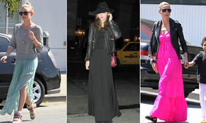 Váy maxi - street style ruột của sao Hollywood