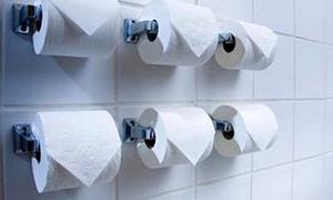 'Cô bé' ốm vì... giấy vệ sinh