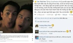 Cao Thái Sơn cảm ơn scandal đồng tính