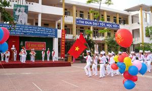 Hơn 20 triệu học sinh, sinh viên chào năm học mới