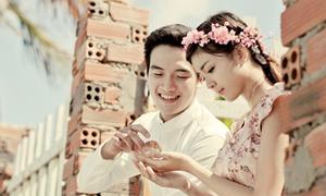 Hot girl Nguyễn Thị Lượm khoe 'ảnh cưới' cực lãng mạn