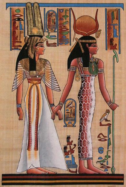 4-egyptian-mythology--hathor-and-queen-n