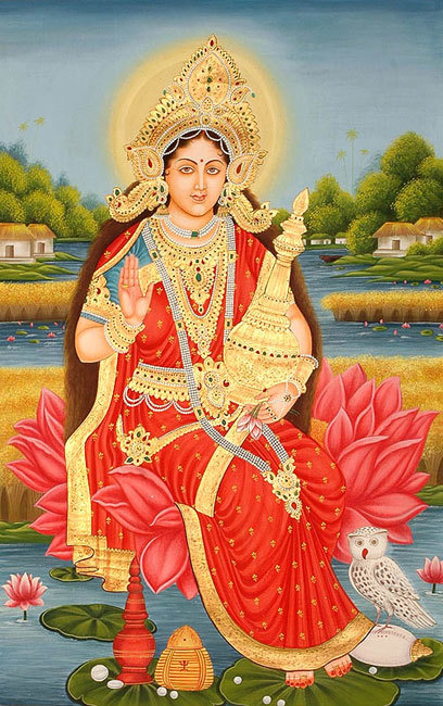 5-hindu-mythology--lakshmi-with-wealthy-