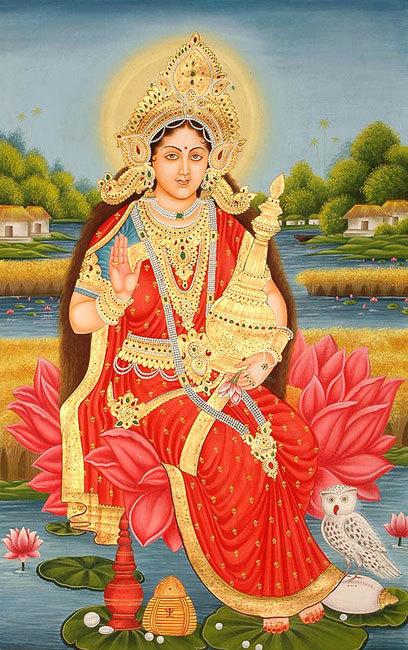 5-hindu-mythology--lakshmi-with-wealthy-