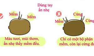Cách chọn và gọt quả Kiwi chuẩn xác