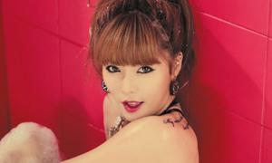 Hyun A 'xăm trổ' đầy mình trong album mới
