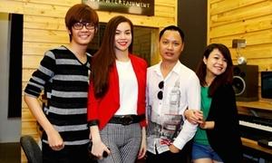 Team Hà Hồ rục rịch ra MV cho Giáng sinh
