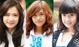 Nữ sinh Việt đẹp như búp bê gây 'sốt' 2012