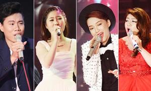 Đặt top 4 Giọng hát Việt lên bàn cân