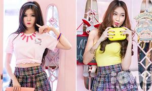 'Búp bê Việt' Lily Luta đọ phong cách cùng top 5 Miss Ngôi sao