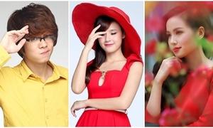 Hot teens rạng ngời chúc Tết độc giả iOne