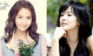 Song Hye Kyo hay YoonA là 'tình đầu quốc dân' xứ Hàn?