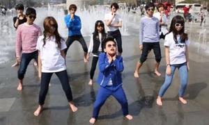 'Psy nhí' tung bản parody MV 'Gentleman'