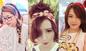 Làm tóc điệu xinh theo cách của Chi Pu, Quỳnh Anh
