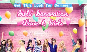 Mix đồ màu sắc chuẩn như SNSD trong Love & Girls