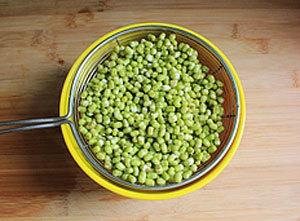 Cách làm kem đậu xanh nguyên hạt ngon 1