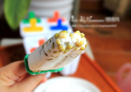 Cách làm kem đậu xanh nguyên hạt ngon 12