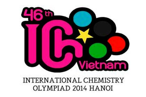 Tác phẩmđoạt giải Nhì cuộc thi thiết kế logo Olympic Hóa học quốc tế 2014 của Fox Phạm.