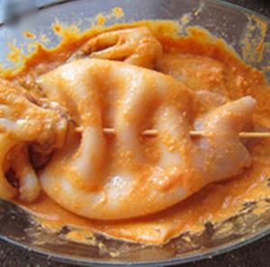 Cách làm món mực nướng kiểu Hàn Quốc cay xè thơm ngon 5