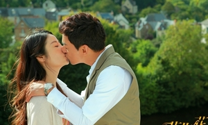 Lâm Tâm Như hôn Joo Jin Mo say đắm