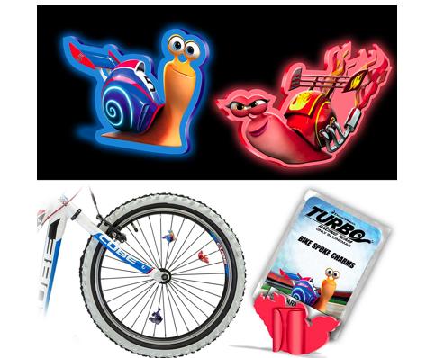 Gắn những anh chàng Turbo vào xe đạp thôi.