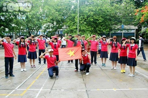 Mỗi một đội đều mang những nét riêng biệt. Bài nhảy Tôi yêu Việt Nam nhận được rất nhiều tràng pháo tay.