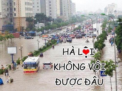 Cứ cố bon chen qua tòa nhà cao nhất Hà Nội là lại tắt máy thôi.