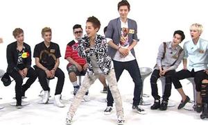 EXO lắc hông điệu nghệ theo 'Bubble Pop'