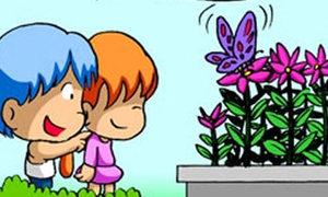 Con trai con gái: Cậu là hoa còn tớ là bướm