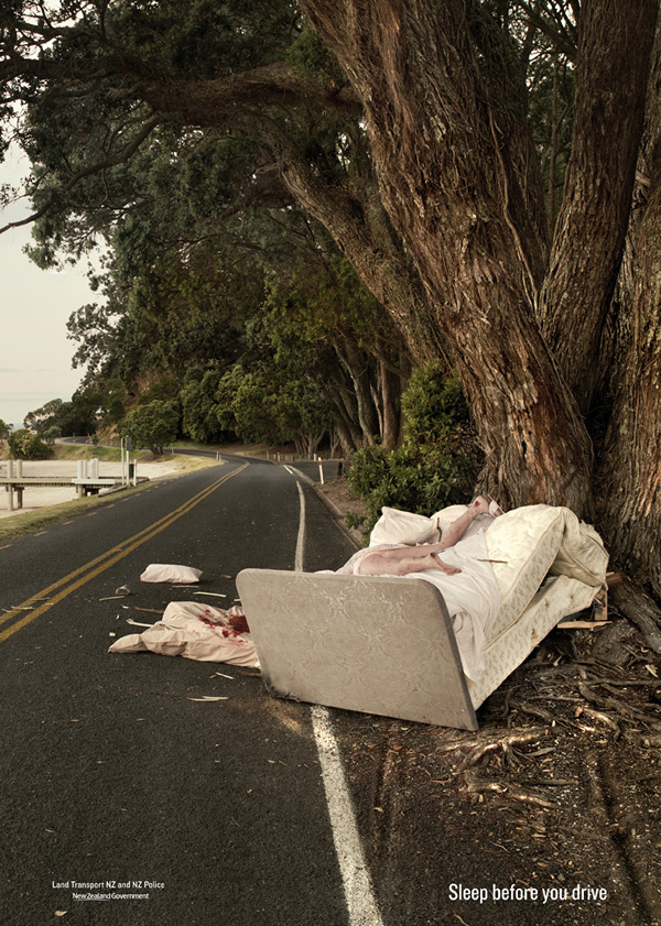 Bạn có thể chết trong giấc mơ nếu ngủ khi đang lái xe.