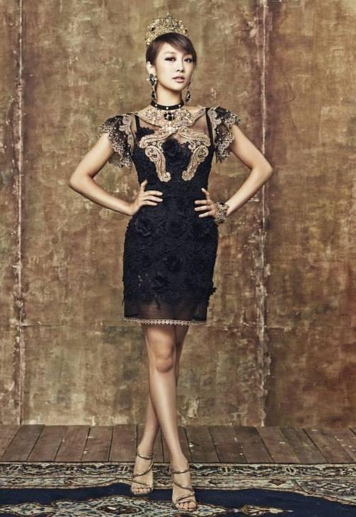 Kara xinh lung linh trong loạt ảnh 'Full Bloom'