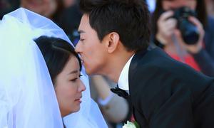 Lâm Tâm Như rơi nước mắt 'cưới' Joo Jin Mo