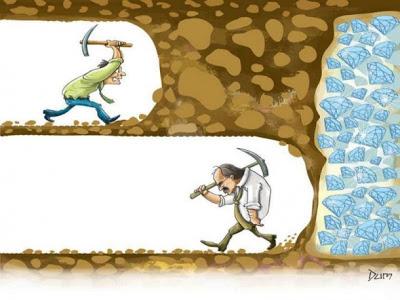 Kiên trì, nhẫn nại và không bao giờ bỏ cuộc đâu nhé.