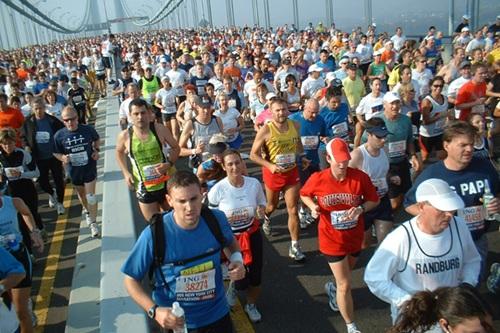 Hình ảnh từ cuộc thi Marathon New York ING. Ảnh: all-athletics.com.